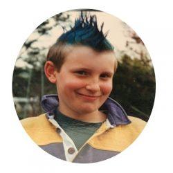 Chris Gibb young